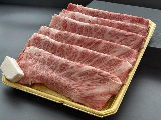 群馬県産上州牛肩ロースすき焼き用400g