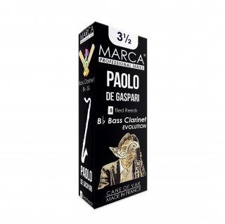 Marca マーカ バスクラリネット用リード パオロ・デ・ガスパリ(Paolo De Gaspari)
