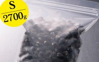 【冷凍チャック付きスタンドパック】宍道湖産大和しじみ特選品 Sサイズ2700g