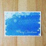 Xmas Blue snow