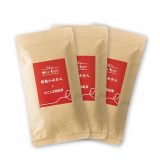 桜島小みかん×かごしま和紅茶(お徳用3パック)