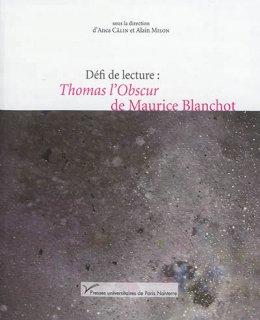 Défi de lecture : Thomas l'obscur de Maurice Blanchot