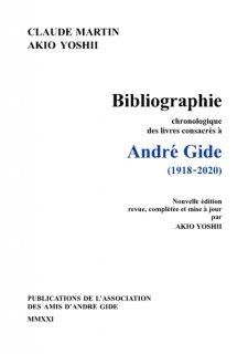 Bibliographie chronologique des livres consacrés à André : 1918-2020