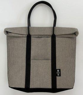 刺子織トートバッグ白