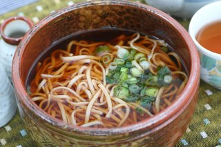 秩父生そば 240g(2人前)麺つゆ付き/5パックセット/食塩・卵類添加物不使用