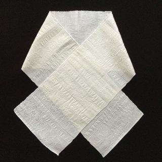 円窓C215*ふくれ織り♪横段花柄模様/やゝオリジナル半衿