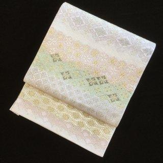 円窓O425*綺麗色!古典文様揃い踏み/リユース袋帯