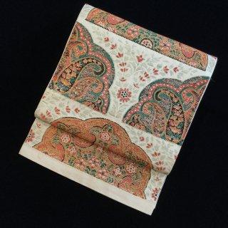 円窓O-504*川島織物製・半華文/アンティーク袋帯