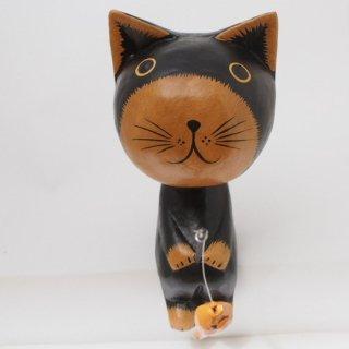 15cmお座りネコ(黒)