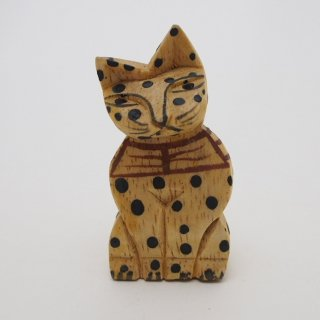 【SALE】黒水玉ネコ