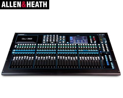 ALLEN&HEATH(A&H)/アレン&ヒース(アレヒ)デジタルミキサー QU-32
