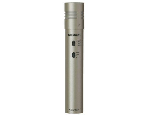 SHURE 楽器用マイクロホン KSM137/SL-X  正規輸入品