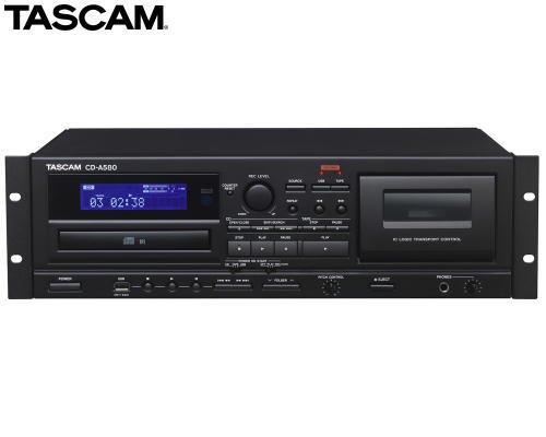 TASCAM CD-A580  CDプレーヤー/カセットデッキ