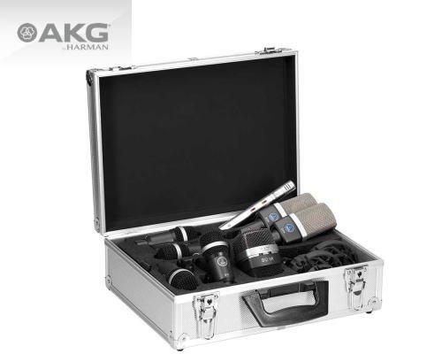 AKG ドラム用マイクセット DRUM SET PREMIUM ※受注発注品/納期1.5〜2ヶ月