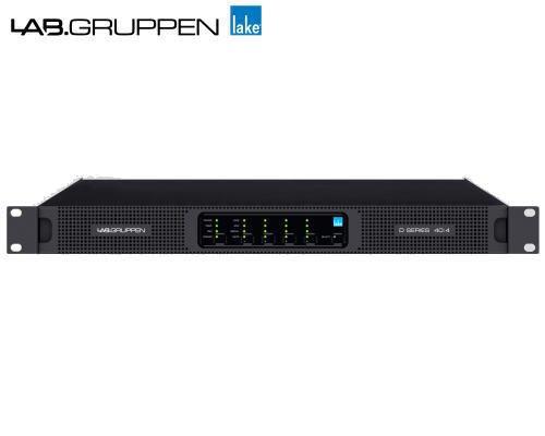 LAB.GRUPPEN(ラブグルッペン) Dシリーズ(スリムライン) D 40:4L パワーアンプ