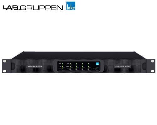 LAB.GRUPPEN(ラブグルッペン) Dシリーズ(スリムライン) D 20:4L パワーアンプ