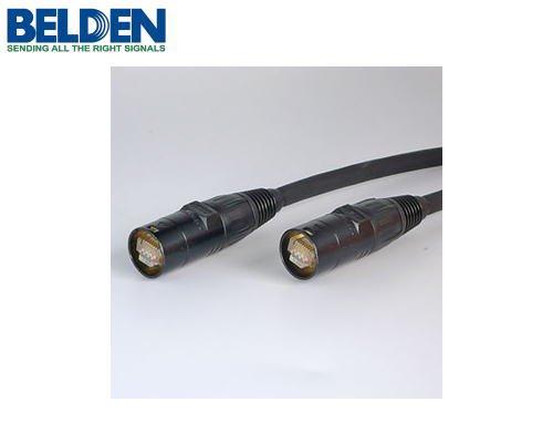 BELDEN/ベルデン CAT5e SF/UTP イーサコンケーブル (シールドタイプ/0.5m) ブラック ET-74003-B-005