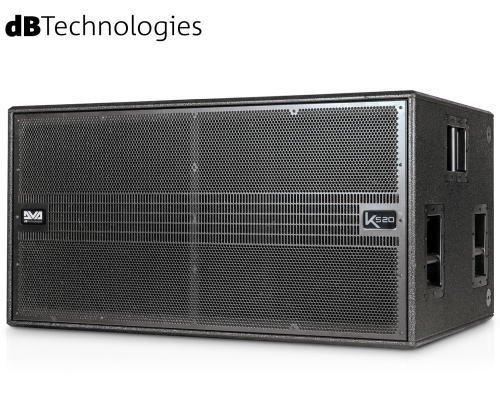 dB Technologies(ディービーテクノロジーズ)DVA K Series アクティブサブウーファー DVA KS20(パワードモデル)
