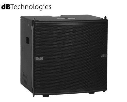 dB Technologies(ディービーテクノロジーズ)DVA Mini Seires アクティブサブウーファー DVA MS12(パワードモデル)