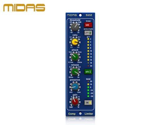 MIDAS(マイダス)コンプレッサー/リミッター COMPRESSOR LIMITER 522 V2
