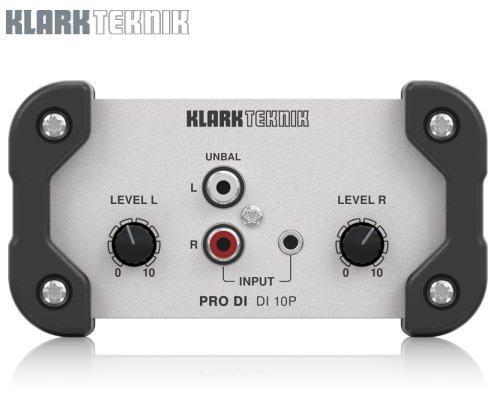 KLARK TEKNIK(クラークテクニック)パッシブDIボックス DI 10P※在庫限り
