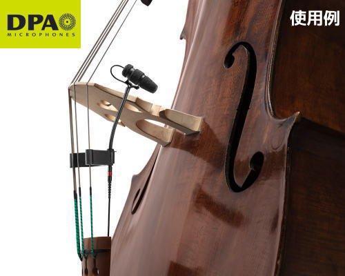DPA CORE4099楽器用マイクロホン ウッドベースセットモデル 4099-DC-1-201-B
