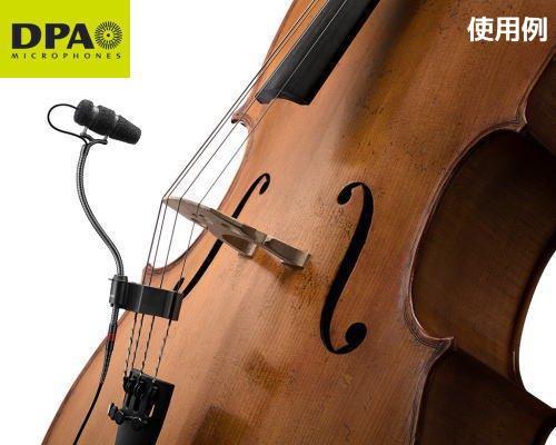 DPA CORE4099楽器用マイクロホン チェロセットモデル 4099-DC-1-201-C
