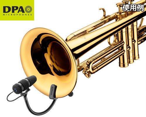 DPA CORE4099楽器用マイクロホン トランペットセットモデル 4099-DC-2-199-T