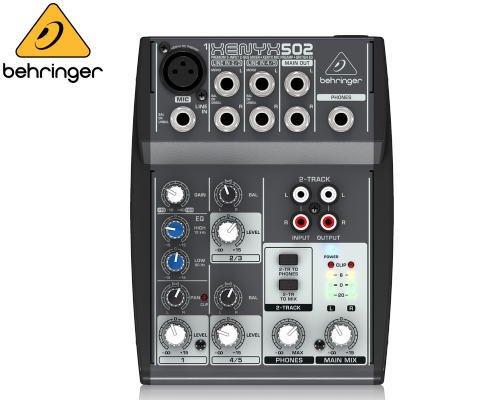 BEHRINGER(ベリンガー)アナログミキサー(5ch) 502 XENYX※在庫限り