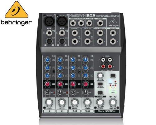 BEHRINGER(ベリンガー)アナログミキサー(6ch) 802 XENYX※在庫限り