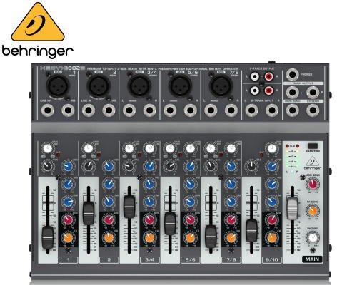 BEHRINGER(ベリンガー)アナログミキサー(10ch) 1002B XENYX※在庫限り