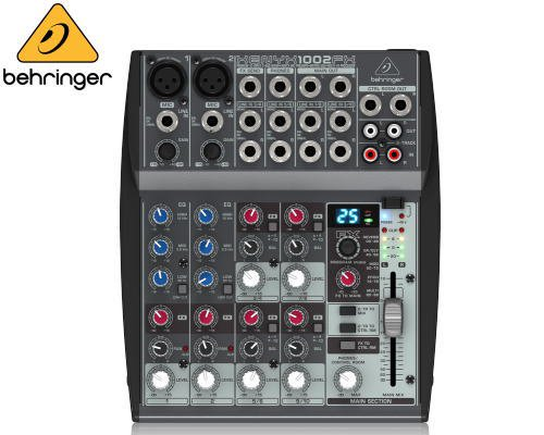 BEHRINGER(ベリンガー)アナログミキサー(10ch) 1002FX XENYX※在庫限り