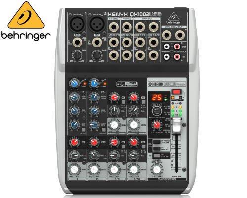 BEHRINGER(ベリンガー)アナログミキサー(10ch) QX1002USB XENYX※在庫限り