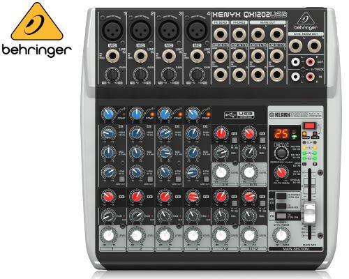 BEHRINGER(ベリンガー)アナログミキサー(12ch) QX1202USB XENYX※在庫限り