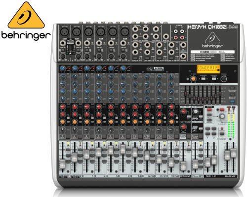 BEHRINGER(ベリンガー)アナログミキサー(14ch) QX1832USB XENYX