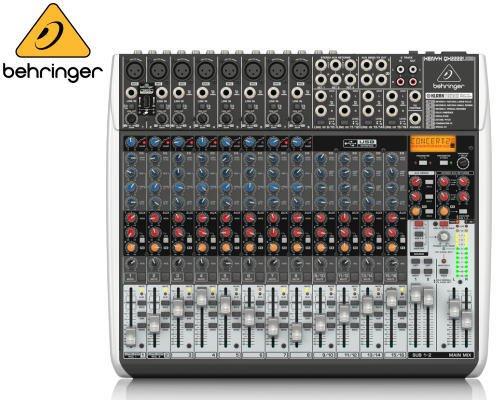 BEHRINGER(ベリンガー)アナログミキサー(16ch) QX2222USB XENYX