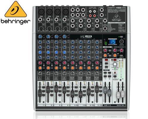 BEHRINGER(ベリンガー)アナログミキサー(12ch) X1622USB XENYX