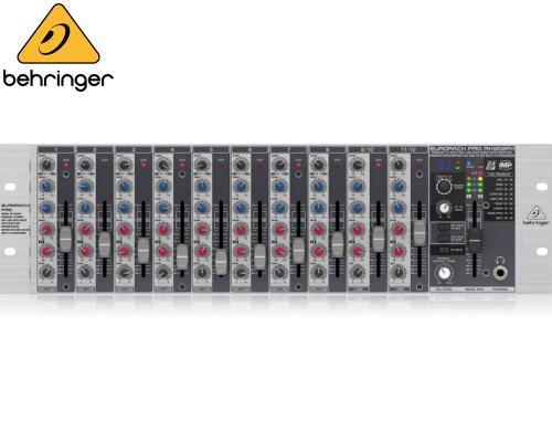 BEHRINGER(ベリンガー)ラックマウントラインミキサー(12ch) RX1202FX EURORACK PRO