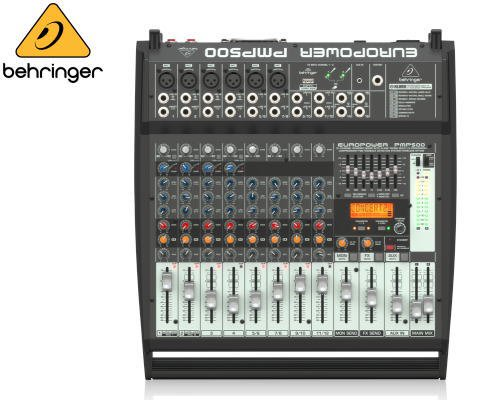 BEHRINGER(ベリンガー)16chステレオパワード・ミキサー PMP500 EUROPOWER
