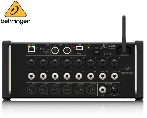 BEHRINGER(ベリンガー)デジタルミキサー XR16 X AIR