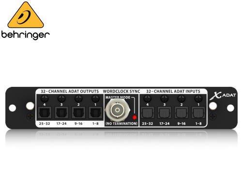 BEHRINGER(ベリンガー)X32用ADAT入出力カード X-ADAT