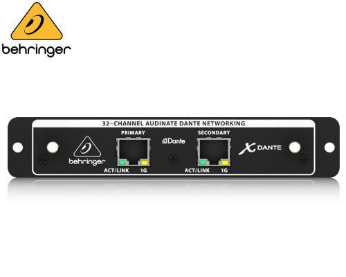 BEHRINGER(ベリンガー)X32用DANTE入出力カード X-DANTE