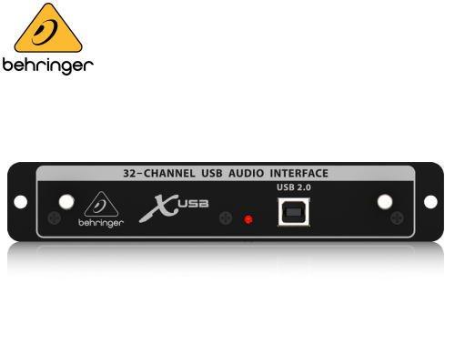 BEHRINGER(ベリンガー)X32用USB2.0インターフェースカード X-USB