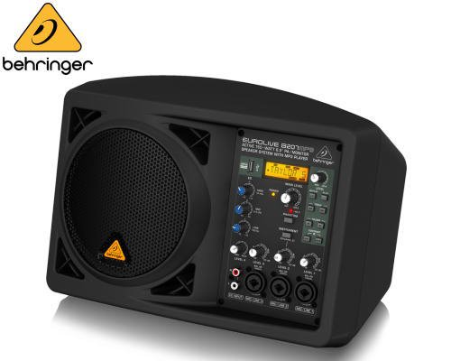 BEHRINGER(ベリンガー)パワードスピーカー B207MP3 EUROLIVE※在庫限り