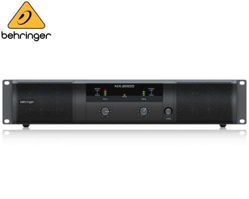 BEHRINGER(ベリンガー)2ch パワーアンプ NX3000※在庫限り