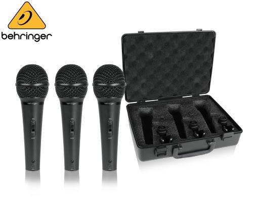 BEHRINGER(ベリンガー)ダイナミック型マイクロホン 3本セット XM1800S ULTRAVOICE※在庫限り
