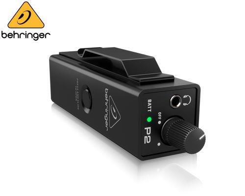 BEHRINGER(ベリンガー)インイヤー・モニターアンプ P2 POWERPLAY