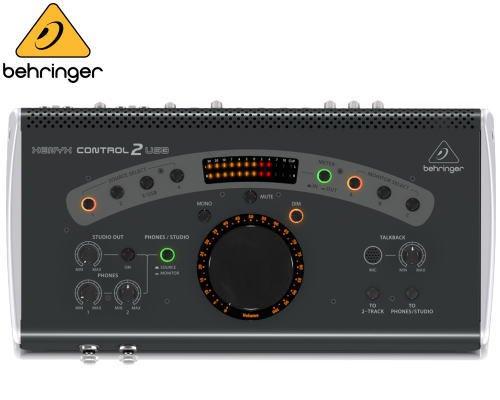 BEHRINGER(ベリンガー)モニターコントローラー CONTROL2USB XENYX ※在庫限り