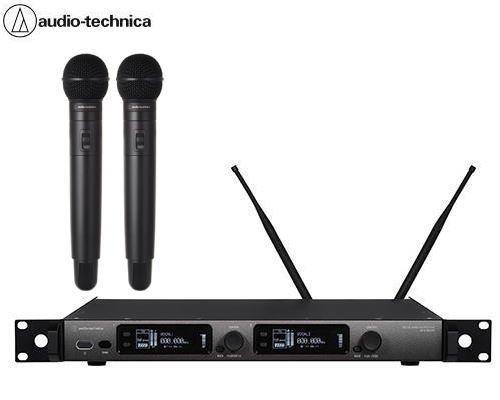 audio-technica デジタルワイヤレスシステム ATW-DR3120HH1×1 + ATW-DT3102/SHH1×2 + ATW-C510×2 セット
