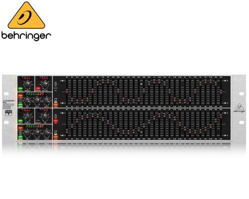 BEHRINGER(ベリンガー)グラフィックイコライザー FBQ6200HD ULTRAGRAPH PRO